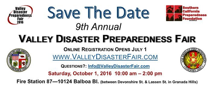 Plans for the 9th Annual Valley Disaster Preparedness Fair Are Already Underway