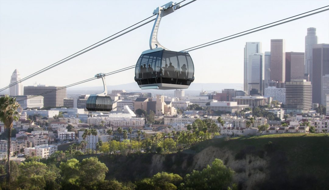 Mayor Garcetti: Proposed Gondola that Could Take Fans to Dodger Stadium