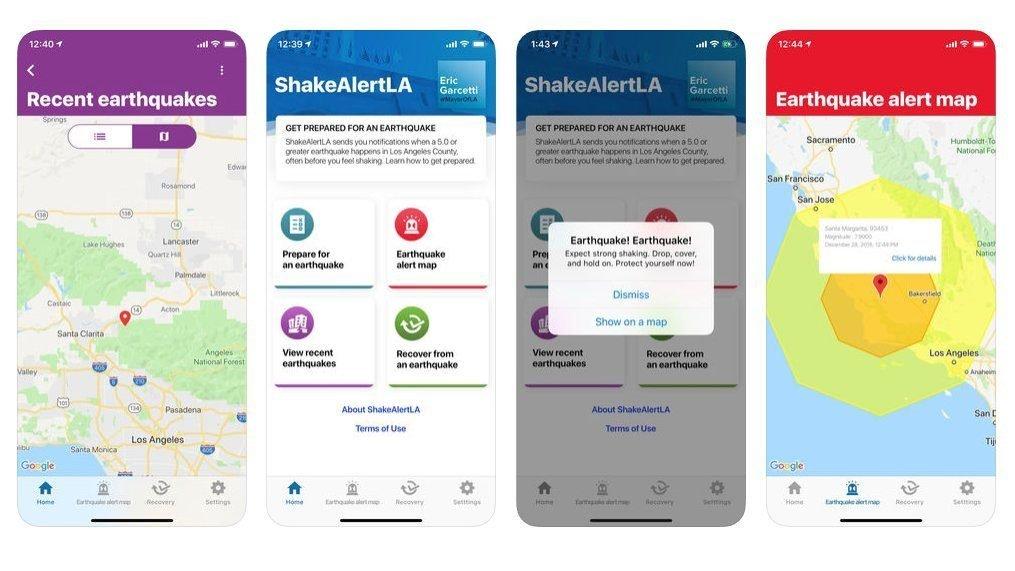 Get Your SHAKEALERTLA Phone App