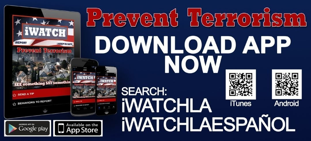 New Way to Report Suspicious Activity in Our Neighborhood on LAPD Website