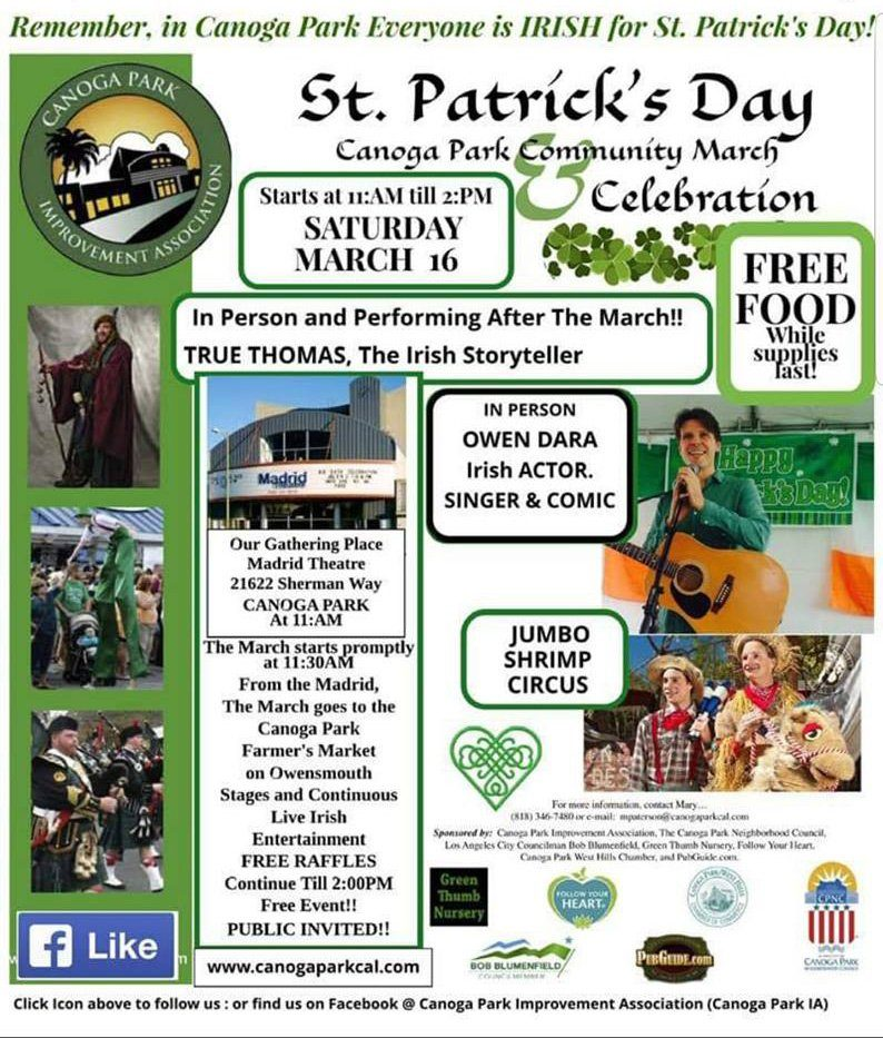 Canoga Park St. Patrick's Day Community March