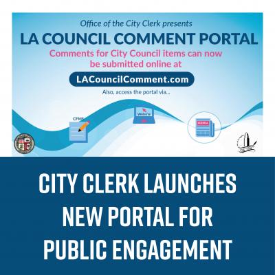 City Clerk Launches New Portal for Public Engagement