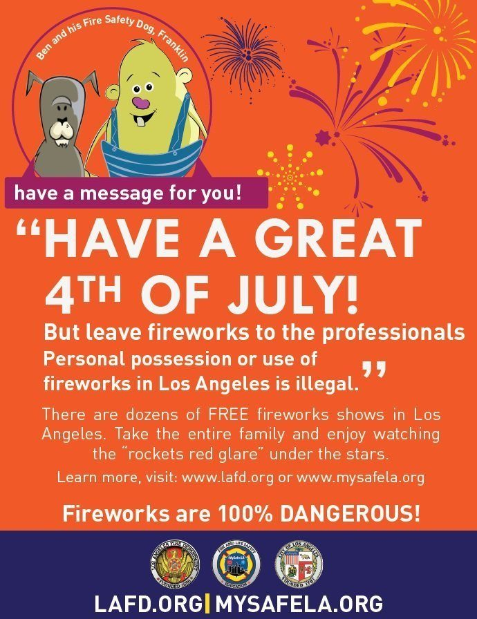 MySafe:LA – Fireworks Safety