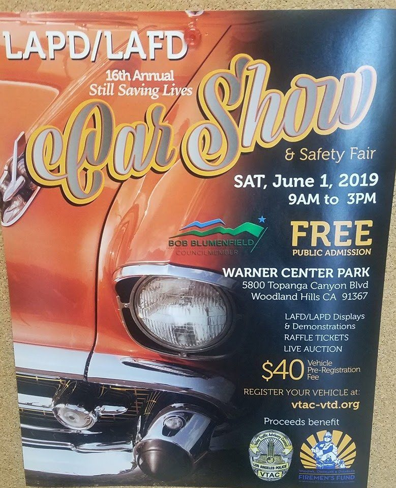 Saving Lives Car Show – Saturday, June 1