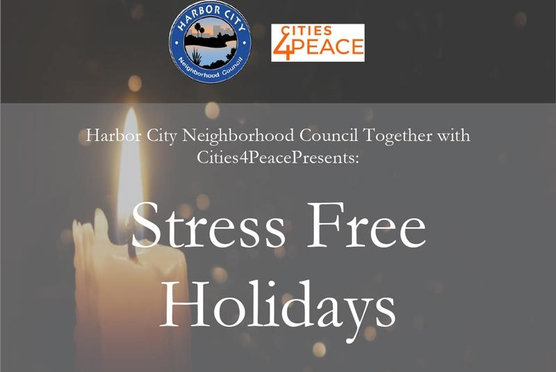 """Stress-Free Holidays"" Events"
