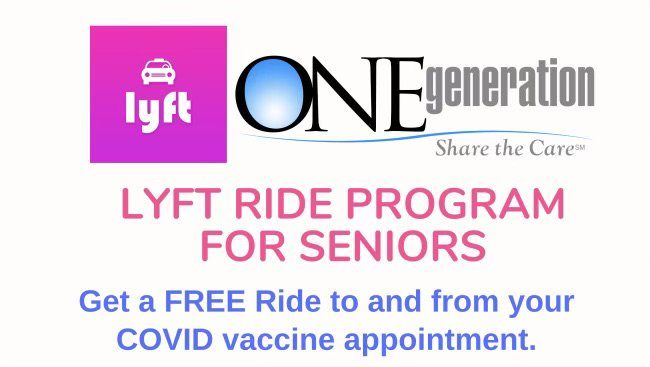 Lyft Ride Program for Seniors